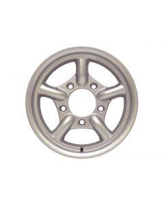 16x8 MaxXtrac Alloy Wheel by Mach 5 Silver