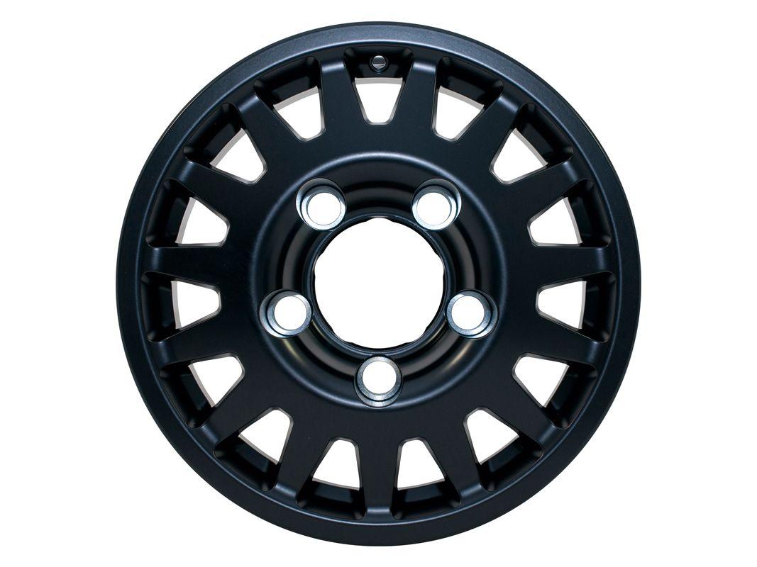 MaxXtrac Blindo 16x7 Black Alloy Wheel