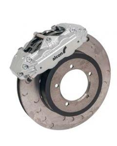 "Silver 16"" 4 Piston Front Brake Kit"