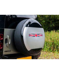 Spare Wheel Cover Sticker - Union Jack Design