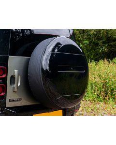 Spare Wheel Cover Gloss Black - Defender 2020 onwards