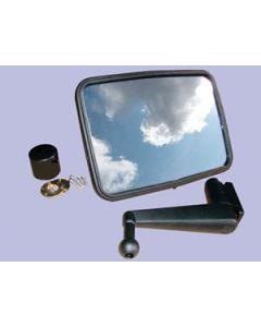 Unbreakable Convex Mirror Kit  - SHORT ARM