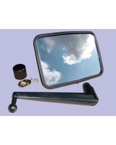 Unbreakable Convex Mirror Kit - LONG ARM