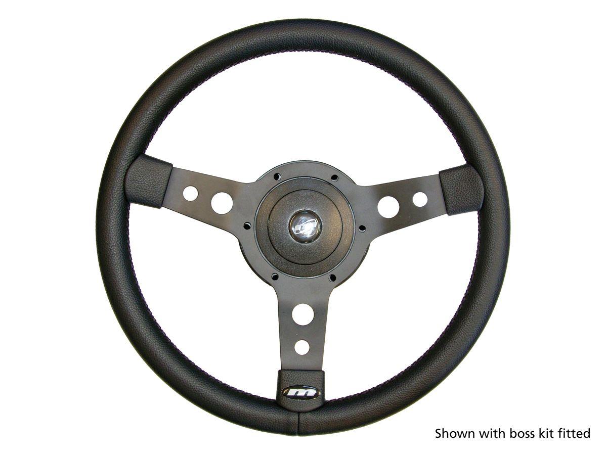 15in 3-Spoke Sports Steering Wheel