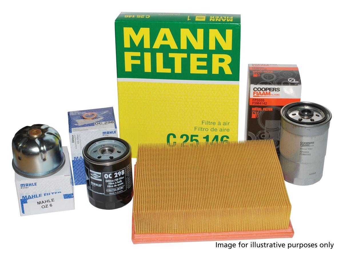 Filter Service Kit - Discovery 4 - 3.0 V6 Diesel & Range Rover Sport 3.0 V6 Diesel