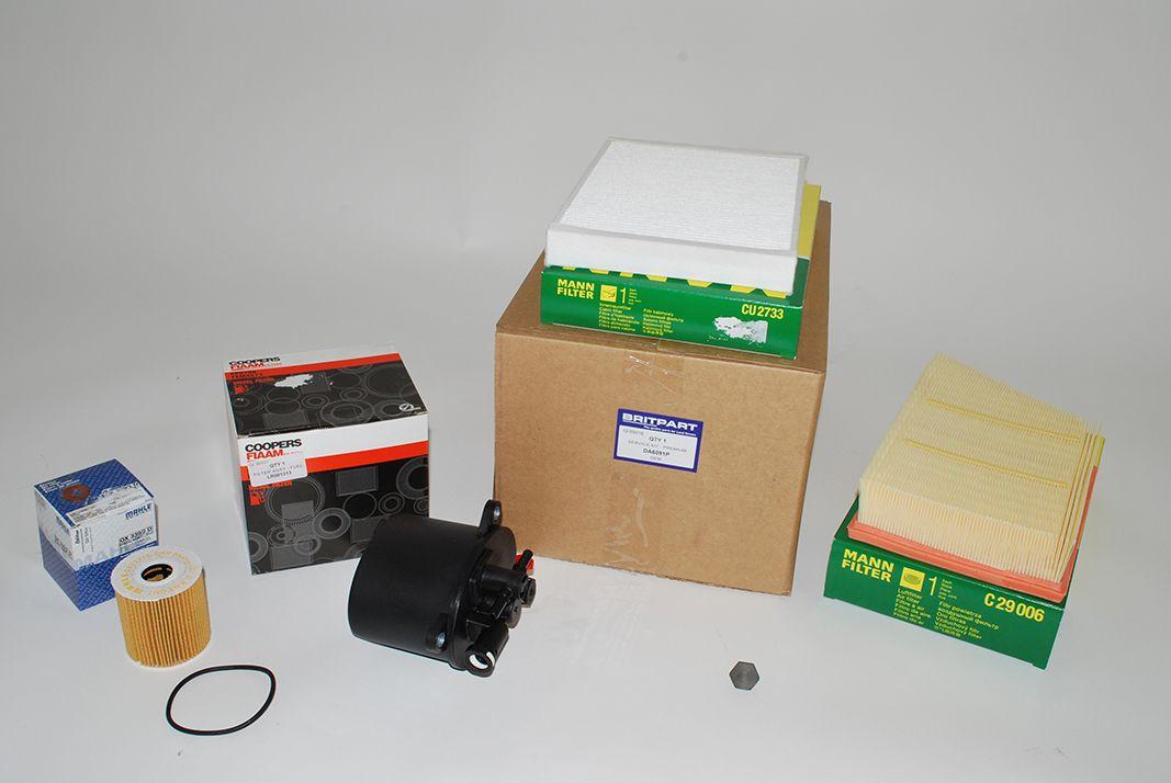 Filter Service Kit - 2.2 Diesel Without Pollution Sensor