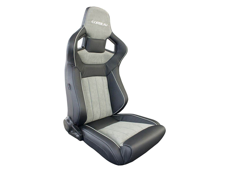 Corbeau Sportline RRS Low Base Seats - Leather and Alcantara Pair