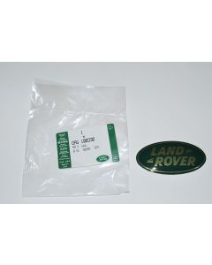 Front Grille Badge - Land Rover - Gold/Green