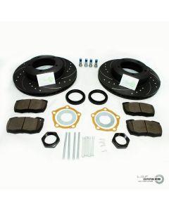 Defender 90,110,130 POWERspec Front VENTED Brake Kit