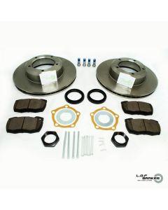 Defender 90,110,130 ROADspec Front VENTED Brake Kit