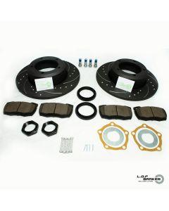 Defender 90,110,130 POWERspec Front SOLID Brake Kit