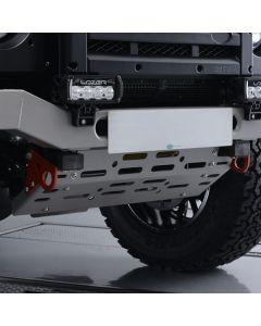 Light Weight Steering Guard Graphite - Defender