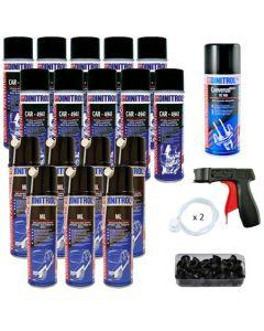 Dinitrol Classic Rustproofing Aerosol Spray Kit for Large Car