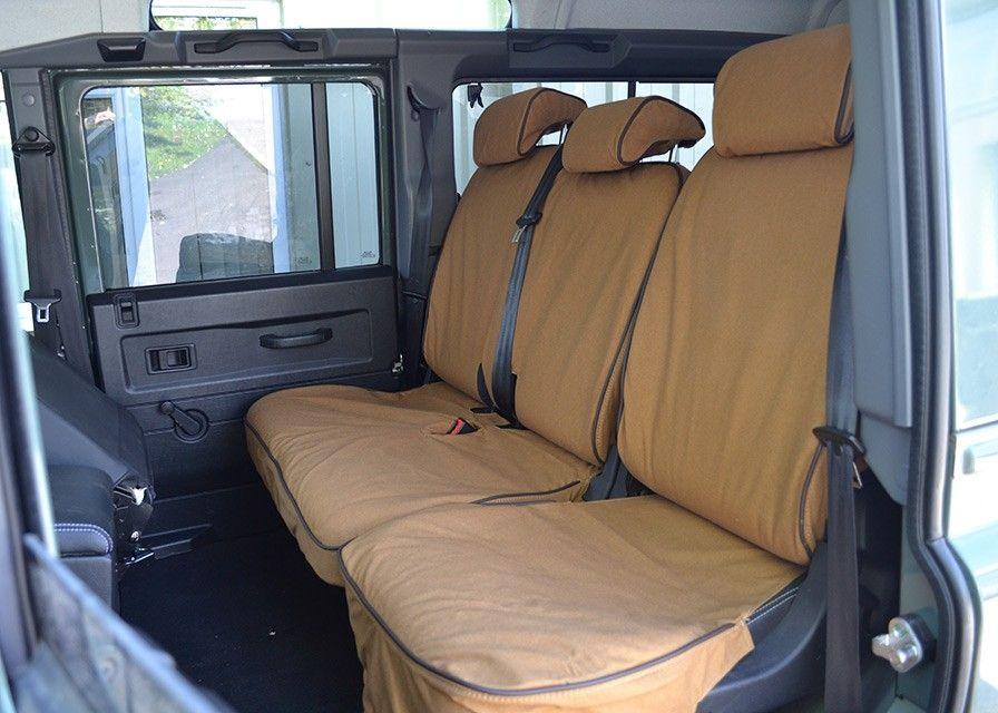 Defender Seat Covers -  60/40 Post 2007 (PUMA) - Sand