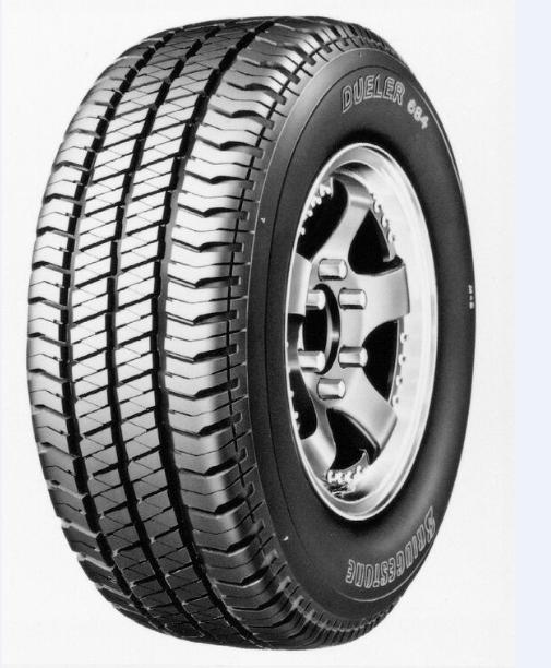 265/65R17 Bridgestone Dueler 684 Tyre Only