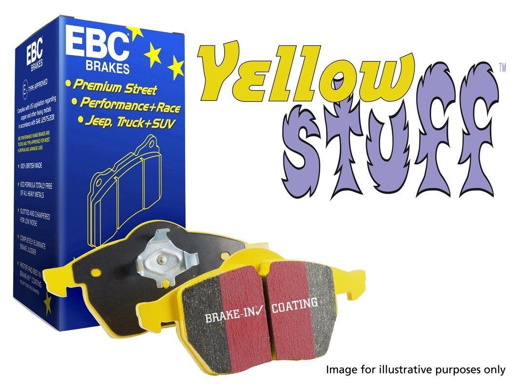 EBC Yellow Stuff Rear Brake Pads, Axle Set