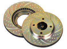 EBC Performance Brake Discs - Pair