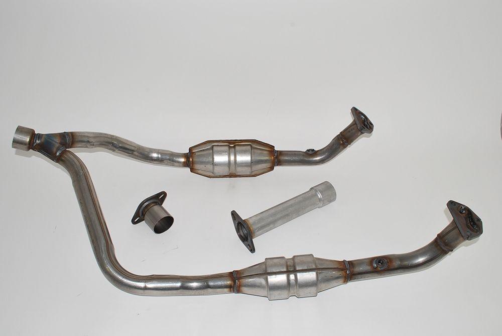Downpipe assembly - V8 3.5/3.9 EFI catalyst manual from GA399973