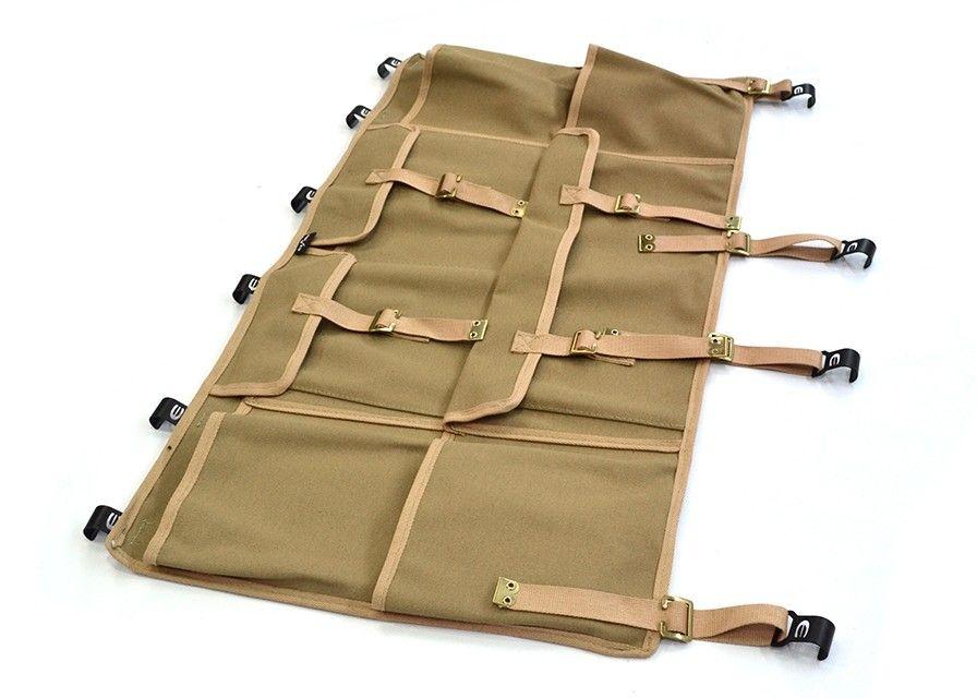 Canvas Side Storage Bag (single) Hard Top, Soft Top fitting - Sand