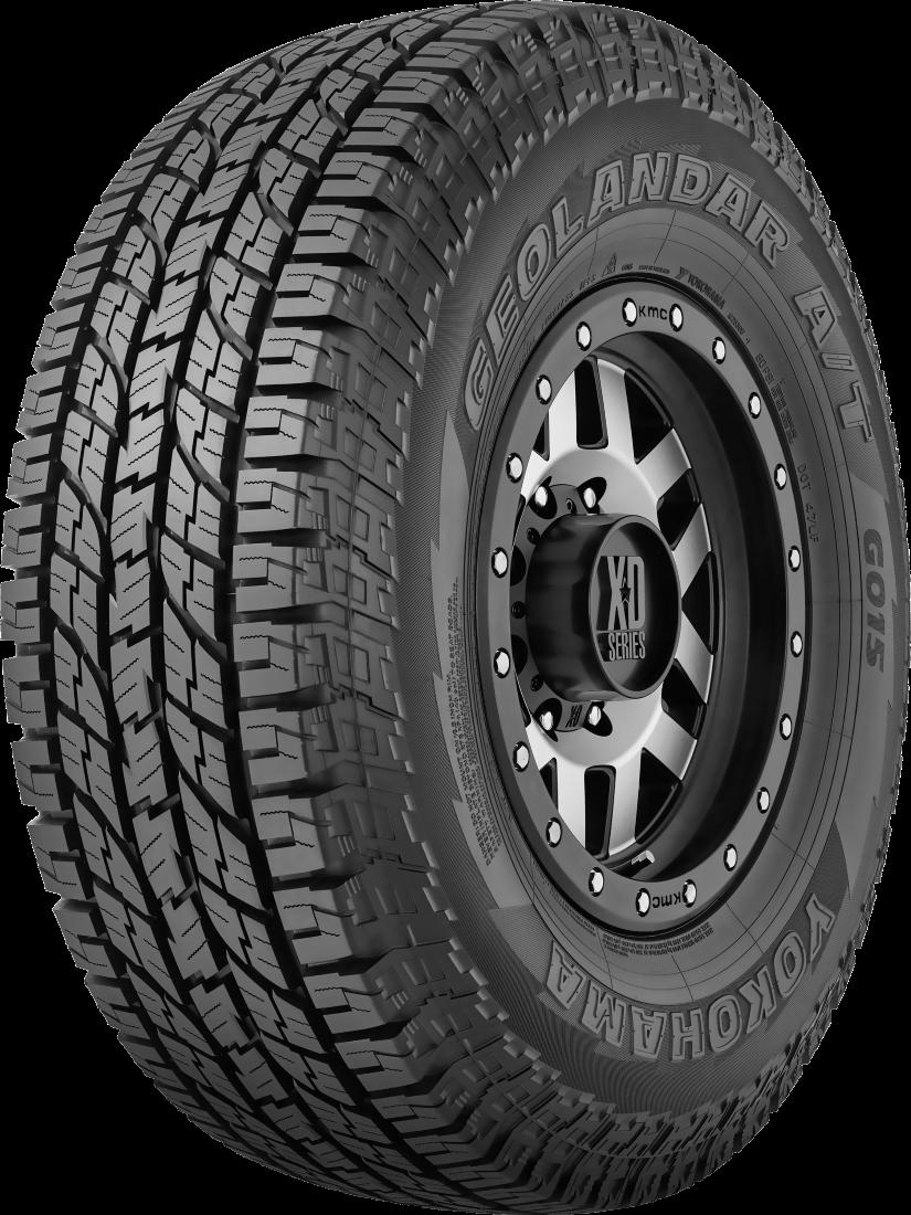 255/70R18 Yokohama Geolandar A/T GO15 Tyre Only