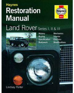 Haynes Restoration Manual Series 1,2 and 3 - by Lindsay Porter