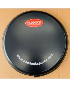 Moulded Spare Wheel Cover - 205R16 225/75R16 235/70R16 - Paddock Logo