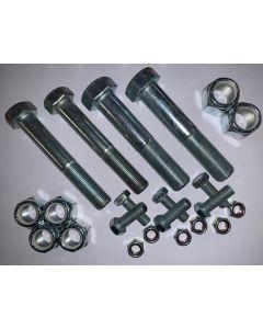 Rear bolt kit - 4bolts/6nuts