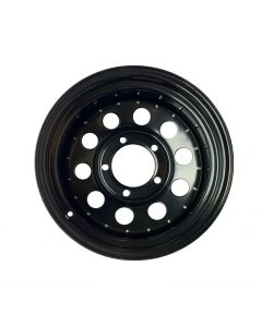 18x8 Saw Tooth Style Alloy Wheel - Black Land Rover with 18x8 Saw Tooth Alloys Saw tooth alloy wheel for Land Rover 18x8 Saw Tooth Style Alloy Wheel - Black