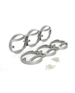KBX NAS Multi Guards - Brunel Silver - Pair