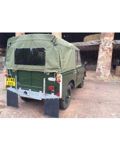 88in Full length Khaki Hood with rear window
