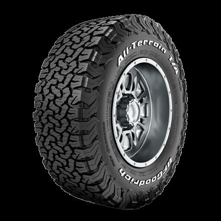 265/65R17 BF Goodrich All Terrain T/A KO2 Tyre Only