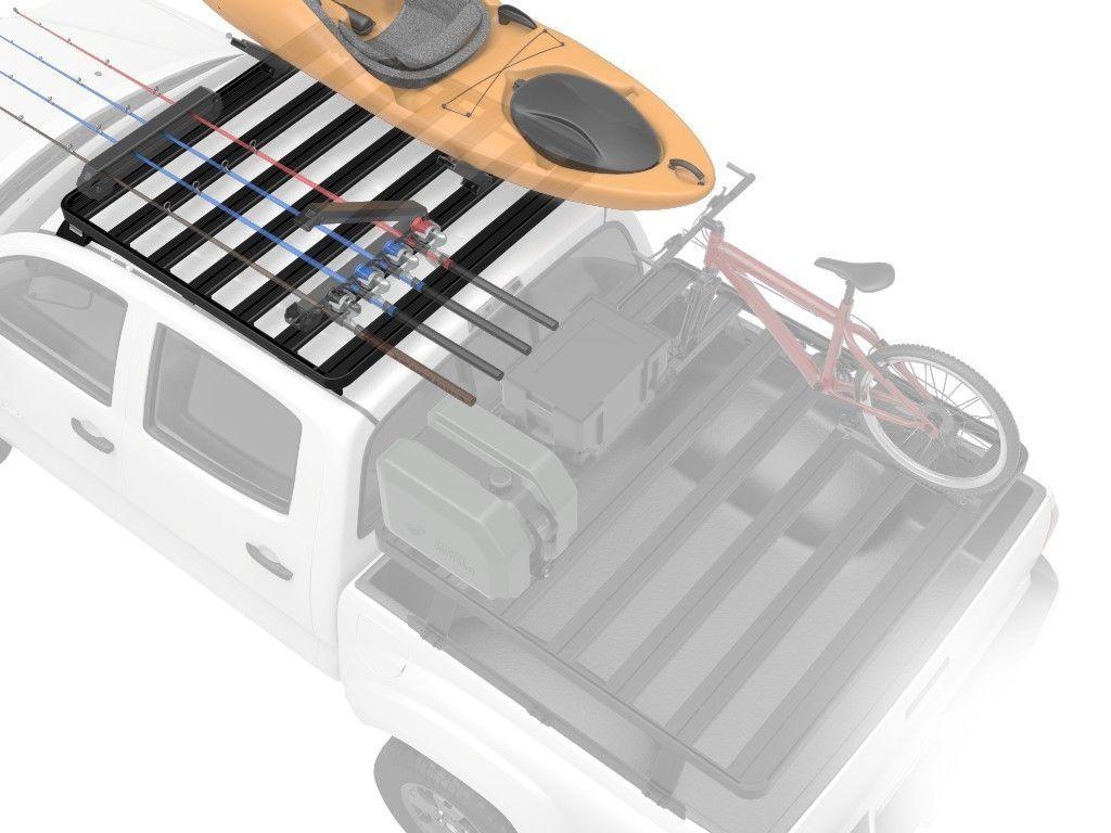 Defender (1983-2016) Pick-Up Truck Slimline II Roof Rack Kit - by Front Runner