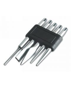 Punch And Chisel Set 5pc