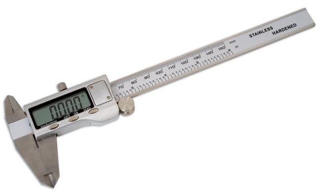 "Digital Vernier Caliper 150mm/6"""