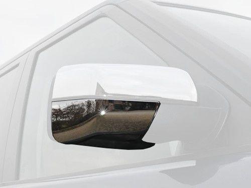 Chrome Lower Cover - Mirror Housing - Pair