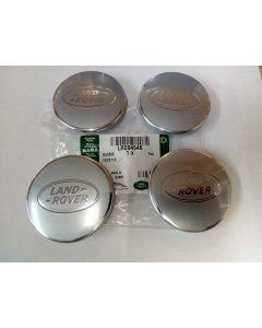 Set of 4 - Centre cap Silver Sparkle