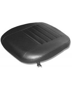Black vinyl outer seat base