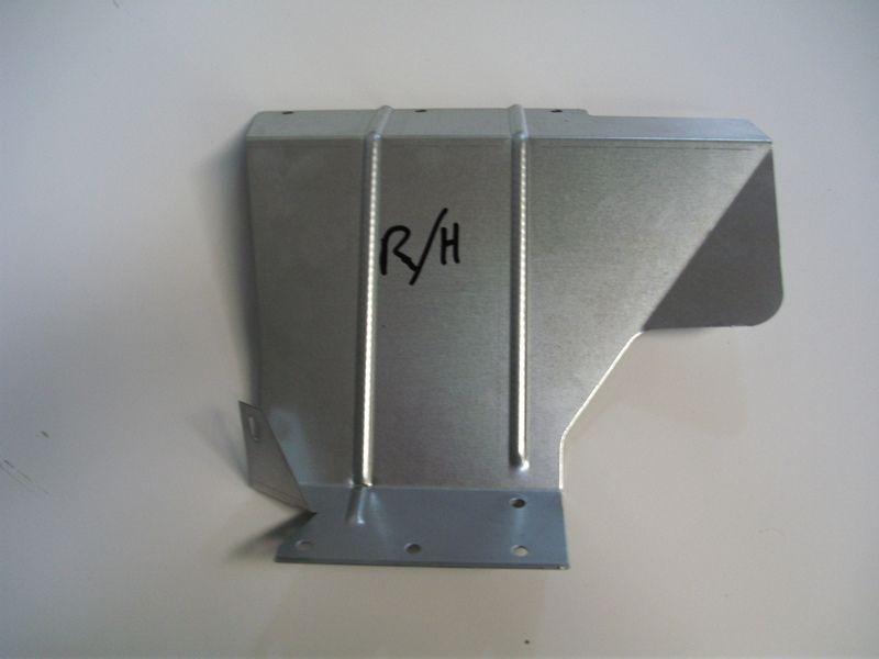 Rear Mudflap Bracket - RH - Galvanised