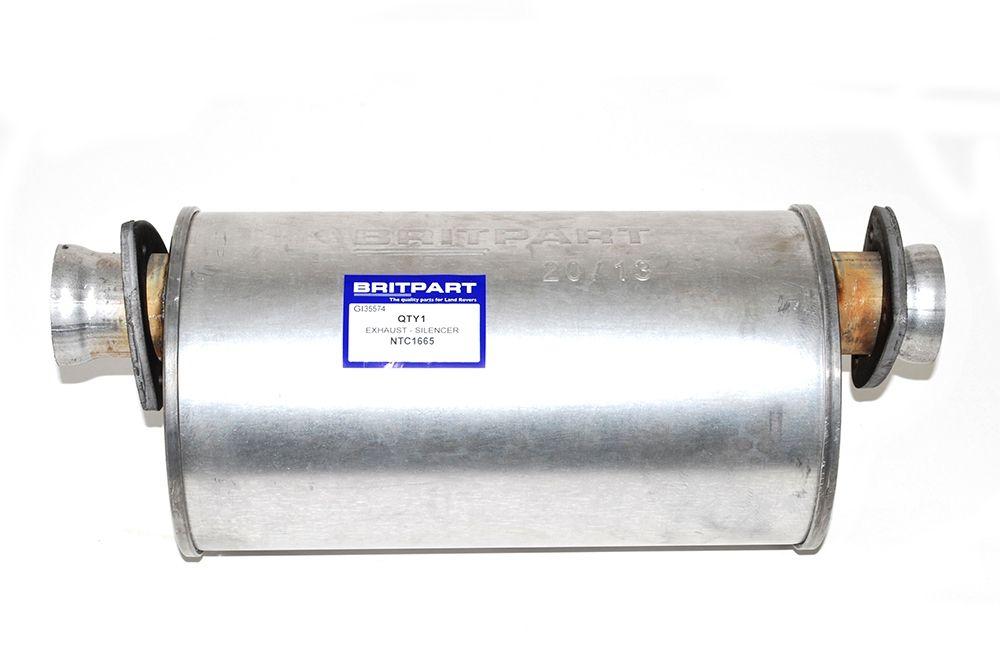 Intermediate Silencer - 90 2.5 Turbo Diesel