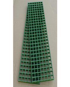 Waffle Boards - pair - heavy duty Green - 1482 x 310 x 50mm
