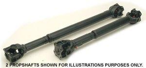 Wide Angle Propshaft - Rear Defender 90 300TDI