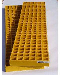 Waffle Boards - pair - heavy duty Yellow - 1482 x 310 x 50mm