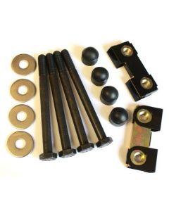 Mild Steel Bumper Bolt Kit inc Nut Blocks