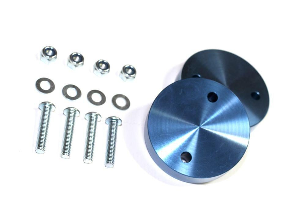 25mm Aluminium Spring Spacer Blocks - Rear