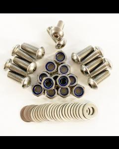 Tuff-Rok Stainless Steel Defender Mudflap Fixing Kit