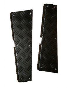 Defender 110 5 door Safari Rear Corner Protectors (pair)- black