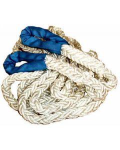 Kinetic Tow Rope - 8 metre x 24mm (2 ton Working Load Limit, 12 ton Minimum Breaking Load)