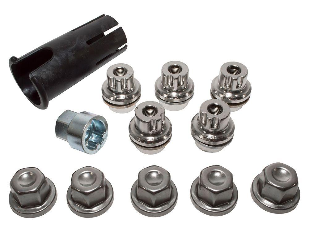 Locking Wheel Nuts & Key Kit