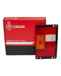 Rear Lamp Lens With Black Edges | LH