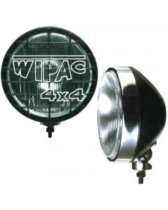 8 inch 100w Spotlamps (pair) - Black Steel back